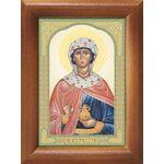 Праведная Иоанна Мироносица, икона в рамке 7,5*10 см - Иконы