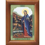 """Пюхтицкая икона Божией Матери """"У источника"""", рамка 7,5*10 см - Иконы"""