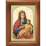 Козельщанская икона Божией Матери, рамка 7,5*10 см - Иконы
