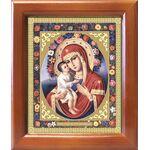 Жировицкая икона Божией Матери, рамка 12,5*14,5 см - Иконы