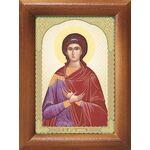 Мученица Любовь Римская, икона в рамке 7,5*10 см - Иконы