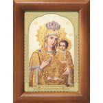 Икона Божией Матери Акафистная Зографская, Предвозвестительница, рамка - Иконы