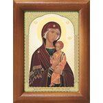 Пименовская икона Божией Матери, рамка 7,5*10 см - Иконы