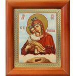 Почаевская икона Божией Матери, рамка 8*9,5 см - Иконы