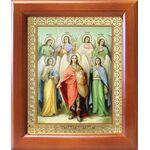 Собор Архангела Михаила, икона в рамке 12,5*14,5 см - Иконы