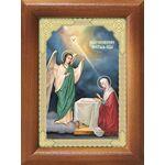 Благовещение Пресвятой Богородицы, икона в рамке 7,5*10 см - Иконы