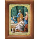 Рождество Пресвятой Богородицы, икона в рамке 7,5*10 см - Иконы