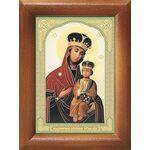 Лубенская икона Божией Матери, рамка 7,5*10 см - Иконы
