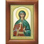 Мученица Антонина Никейская, икона в рамке 7,5*10 см - Иконы