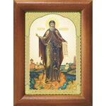 Преподобный Давид Серпуховский, икона в рамке 7,5*10 см - Иконы