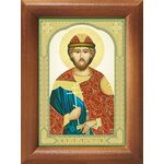 Благоверный князь Ростислав Киевский, икона в рамке 7,5*10 см - Иконы