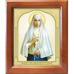 Преподобномученица великая княгиня Елисавета, рамка 12,5*14,5 см - Иконы