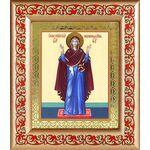 """Икона Божией Матери """"Нерушимая Стена"""", в рамке с узором 14,5*16,5 см - Иконы"""