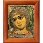 Ангел Златые Власы, Архангел Гавриил, рамка 8*9,5 см - Иконы