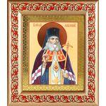 Святитель Лука архиепископ Крымский, икона в широкой рамке с узором - Иконы