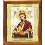 """Икона Божией Матери """"Млекопитательница"""", рамка 20*23,5 см - Иконы"""