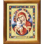 Жировицкая икона Божией Матери, рамка 20*23,5 см - Иконы