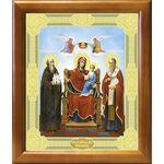 """Икона Божией Матери """"Экономисса"""", рамка 20*23,5 см - Иконы"""