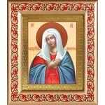 """Икона Божией Матери """"Умиление"""", рамка с узором 14,5*16,5 см - Иконы"""