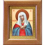 """Икона Божией Матери """"Умиление"""", широкая деревянная рамка 14,5*16,5 см - Иконы"""