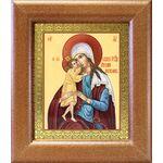 """Икона Божией Матери """"Взыскание погибших"""", широкая рамка 14,5*16,5 см - Иконы"""