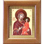 Тихвинская икона Божией Матери, широкая рамка 14,5*16,5 см - Иконы