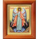 Ангел Хранитель ростовой, икона в рамке 8*9,5 см - Иконы