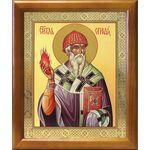 Святитель Спиридон Тримифунтский, икона в рамке 17,5*20,5 см - Иконы