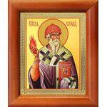 Святитель Спиридон Тримифунтский, икона в рамке 8*9,5 см - Иконы