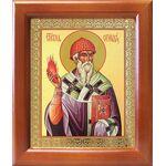 Святитель Спиридон Тримифунтский, икона в рамке 12,5*14,5 см - Иконы