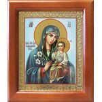"""Икона Божией Матери """"Неувядаемый Цвет"""", рамка 12,5*14,5 см - Иконы"""