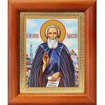 Преподобный Сергий Радонежский, икона в рамке 8*9,5 см - Иконы