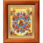 """Икона Божией Матери """"Неопалимая Купина"""", рамка 8*9,5 см - Иконы"""