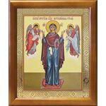 """Икона Божией Матери """"Нерушимая Стена"""", рамка 17,5*20,5 см - Иконы"""