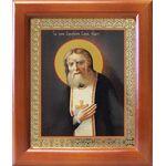 Преподобный Серафим Саровский, икона в рамке 12,5*14,5 см - Иконы