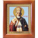 Святитель Николай Чудотворец, икона в рамке 12,5*14,5 см - Иконы