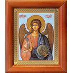 Михаил Архангел, Архистратиг, икона в рамке 8*9,5 см - Иконы