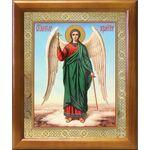 Ангел Хранитель на голубом фоне, икона в рамке 17,5*20,5 см - Иконы