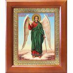 Ангел Хранитель на голубом фоне, икона в рамке 12,5*14,5 - Иконы