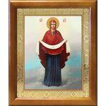 Покров Пресвятой Богородицы, икона в рамке 17,5*20,5 см - Иконы