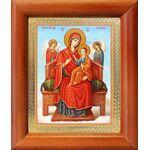 """Икона Божией Матери """"Всецарица"""", рамка 8*9,5 см - Иконы"""