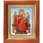 """Икона Божией Матери """"Всецарица"""", рамка 12,5*14,5 см - Иконы"""