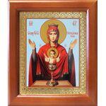 """Икона Божией Матери """"Неупиваемая Чаша"""", рамка 12,5*14,5 см - Иконы"""