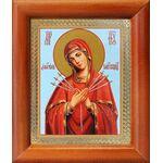 """Икона Божией Матери """"Умягчение злых сердец"""", рамка 8*9,5 см - Иконы"""