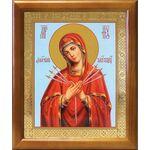 """Икона Божией Матери """"Умягчение злых сердец"""", рамка 17,5*20,5 см - Иконы"""