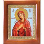 """Икона Божией Матери """"Умягчение злых сердец"""", рамка 12,5*14,5 см - Иконы"""