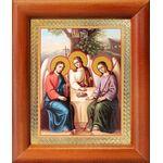 Святая Троица, икона в рамке 8*9,5 см - Иконы