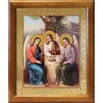 Святая Троица, икона в рамке 17,5*20,5 см - Иконы
