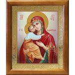 Владимирская икона Божией Матери, рамка 17,5*20,5 см - Иконы