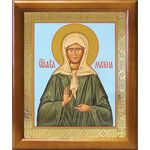 Блаженная Матрона Московская, икона в рамке 17,5*20,5 см - Иконы